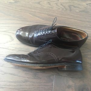 Made in USA Oxblood Shoes